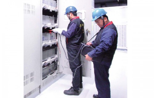 APPLICATION OF BATTERY ON-LINE DISCHARGE TECHNOLOGY